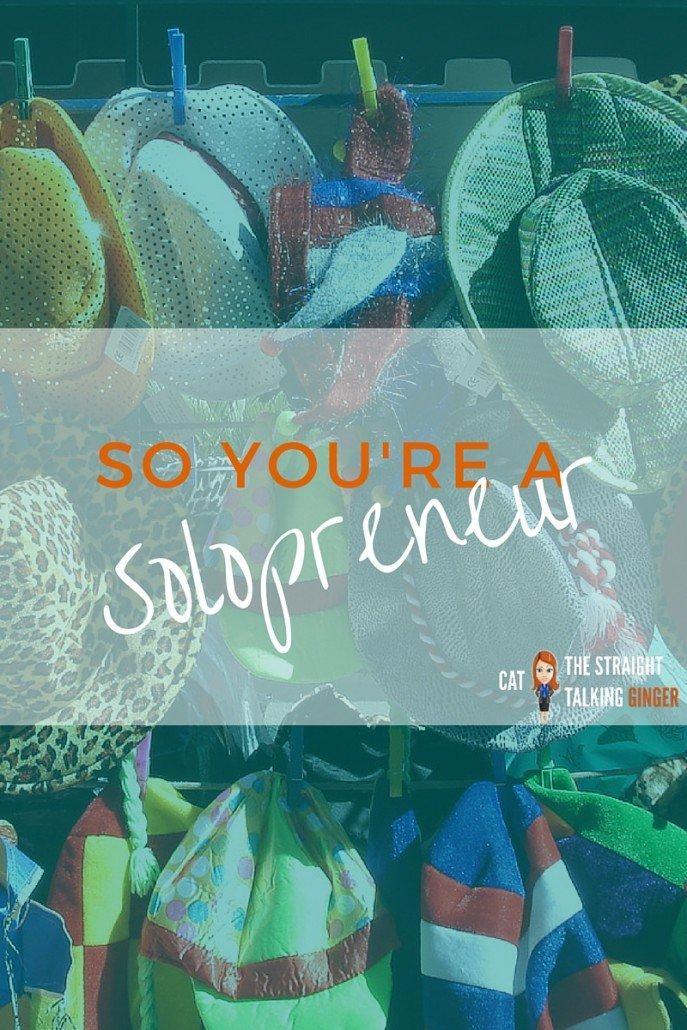 SO YOU'RE A SOLOPRENEUR HATS