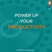 POWER UP YOUR PRODUCTIVITY CAT PATERSON STRAIGHT TALKING GINGER